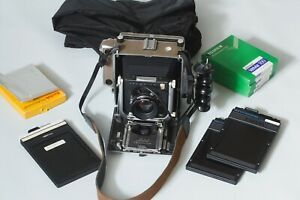 "Linhof Technika IV 4x5"" View Camera Large Format Film Camera"
