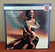 ESTHER PHILLIPS - What A Diffrecne A Day Makes ZK 40710 CD  LIKE NEW  DB2070