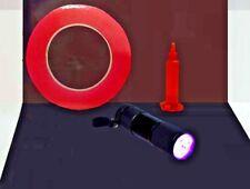 Pegamento, cinta de doble cara 5 ML, 9 LED Linterna UV Paquete Reparación De Tablet Teléfono Móvil