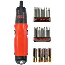 Black And Decker Cordless Battery Screwdriver Home DIY 6V Screw Driver Wireless