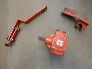Kubota GF1800 GC60F PTO Gear Box for Bagger  w/ brackets   OEM
