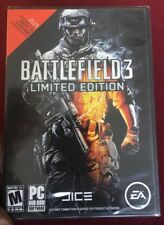 🔫Brand New!!! Battlefield 3: Limited Edition (PC, 2011) Factory Sealed!!!🔫