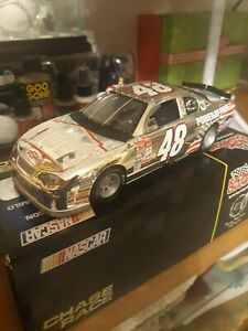 1/24 2001 Jimmie Johnson Chrome Power of pride chase car very rare RC