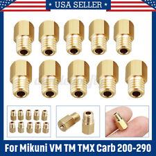 Mikuni Large Hex-Type Main Jets for VM//TM//TMX Carburetor 210 4 Pack