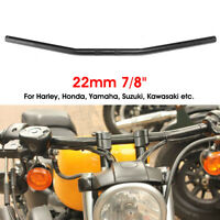 Universal 7/8'' 22mm Motorcycle Bike Drag Bar Handlebar 70cm For Honda Yamaha +
