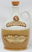 Vintage Stoneware Bronte Yorkshire Liqueur Jug Bottle Decanter