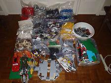 LEGO Megabloks 55+lb Star Wars Halo Manuals Castle Millenium Falcon Misc Extras