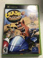 Crash Nitro Kart Xbox Original (Microsoft Xbox, 2003) W/Manual MINT