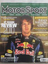 Motorsport Magazine -  January 2011 - 2010 GP Season Review, Rubens Barrichello