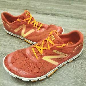 Original New Balance Minimus MR10 RY2 MR10RY2 Running Shoes Men's- Red and White