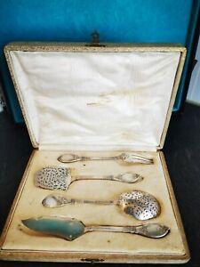 Lappara & Gabriel argent massif couverts de service mignardise solid silver