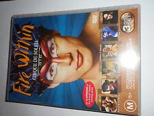 CIRQUE DU SOLEIL FIRE WITHIN  DVD SET
