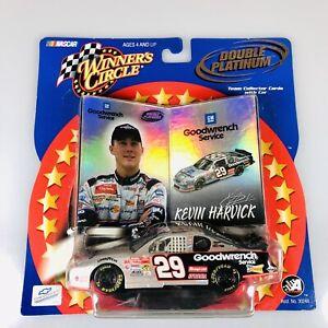 NASCAR 2001 WINNER'S CIRCLE DOUBLE PLATINUM #29 KEVIN HARVICK 1/43 DIECAST CAR