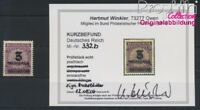 Deutsches Reich 332b geprüft postfrisch 1923 Hochinflation (8984228