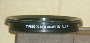 Tiffen Series 8 77 M 8 Screw-In Lens Adapter with a Retaining Ring