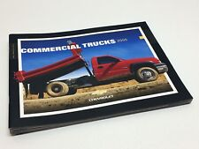 2005 Chevrolet Colorado Silverado Uplander Express Commercial Trucks Brochure