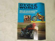 DECEMBER 1969 CYCLE WORLD MAGAZINE,HONDA SL350,NORTON 750,BRIDGESTONE 100,ISDT