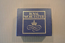 Vintage Box Set Royal Worcester England Egg Coddlers Native American Redskins