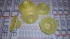 300 COPPETTE PLASTICA  GIALLE CC 100 PER YOGURT GELATI E MACEDONIE  PLASTIC CUPS
