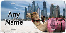 Camel Dubai Any Name Personalized Novelty Car License Plate P03