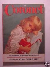 CORONET December 1954 LIBERACE PATRICE MUNSEL JOHN WAYNE HYPNOTISM +++