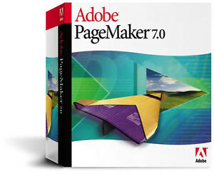 New Adobe PageMaker 7.0  Full Version Windows 27530379 Factory sealed