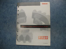 1995 1994 YAMAHA PARTS FAILURES IDENTIFICATION GUIDE MANUAL YZ 250 400 100 80 60
