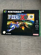 F-Zero X N64 Nintendo Game Boxed Complete Manual Included