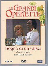 LE GRANDI OPERETTE SOGNO DI UN VALZER E. MARTELLI DVD  RAI TRADE FABBRI ED.