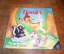 BAMBI - FS Laserdisc - CAV - Disney