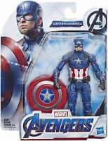 Hasbro 2018 Avengers Marvel Captain America 6 in Marvel Super Hero Figure