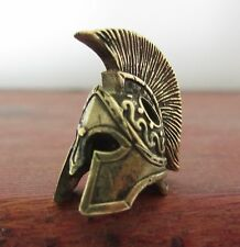 Helmet Bronze Paracord Leather Knife Lanyard Bead Beads Bracelet Jewelry Making.