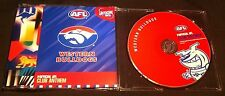 AFL OFFICIAL CLUB ANTHEM - WESTERN BULLDOGS (2002) 4 TRACK CD SINGLE