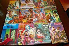 HORROR SCI FI FANTASY Lot of 12 MEXICO COMIC BOOKS 1960s-70s