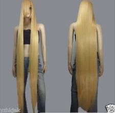 150cm Long Rapunzel Tangled Light Golden Blonde Straight Cosplay Hair wigs