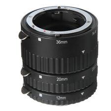 Auto Focus Macro Extension Tube Set 12+20+36mm For Nikon AF AF-S DX FX Lens DSLR