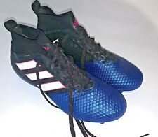 Adidas Outdoor Soccer Cleats Blue Black PRB 698001 Men's Size 7