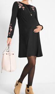 Umstandskleid Schwangerschaftskleid Kleid Viskose Schwangerschaft 34 XS #328