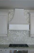 Seamless Mother of Pearl Shell Mosaic Tile Kitchen/Bathroom Backsplash Sheet