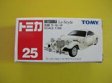 Tomy Tomica #25 Mitsuoka Le-Seyde Scale 1/68 White