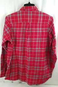 Antigua Women's NFL San Francisco 49ers Button Front Shirt Size Large Red