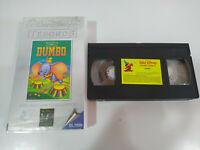 Dumbo Los Clasicos de Walt Disney Ed el Pais - VHS Cinta Castellano
