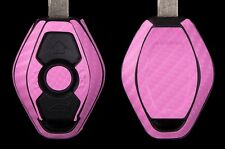 3M Carbon Fiber Wrap for Remote Key BMW  3 5 6 7 Series Z X M 1999-2005 PINK