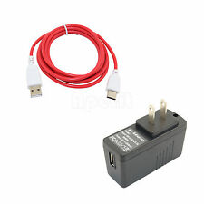 5V Charger + Cable for Fuhu Nabi 2S Android Kids Tablet R2D2 Edition SNB02-NV7A