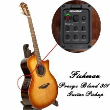 Fishman Presys Blend 301 Folk Acoustic Guitar Pickups Mic Beat Board USA SELLER