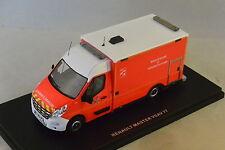 ALERTE 035 - RENAULT MASTER 3 CAISSON VSAV 77 CHELLES Pompiers  1/43