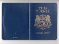 Tina Turner CD FOREIGN AFFAIR © 1989 UK Limited Passport Edition # CDP 7 93129 2