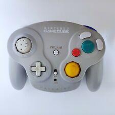 Nintendo GameCube Silver Wavebird Controller Only No Receiver Untested