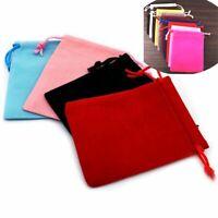 10 PCS New Cookie Velvet Baking Drawstring Pouch Bag Box Candy Pouch Case