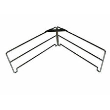 Chrome Plated Outdoor Magic Pizza Stone Rack 2 Wings 290mm L x 120mm High